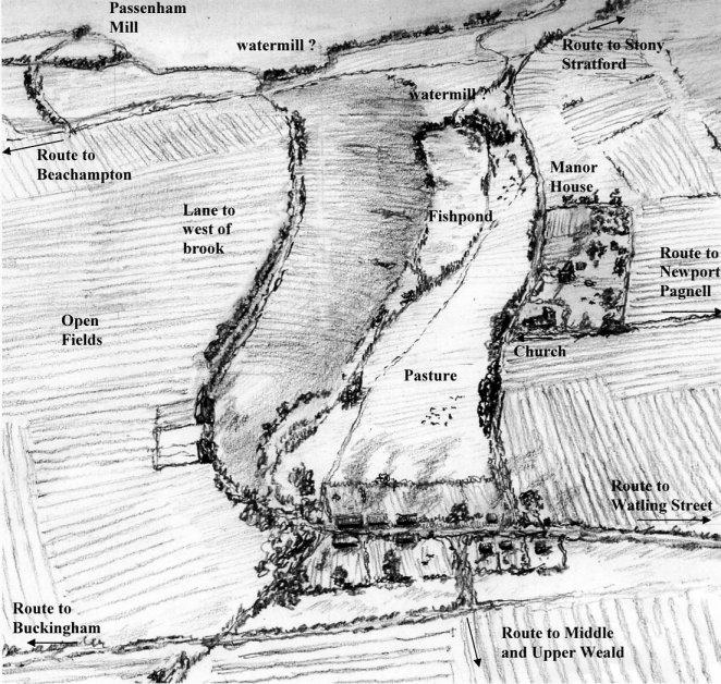 Fish Pond c. 1550
