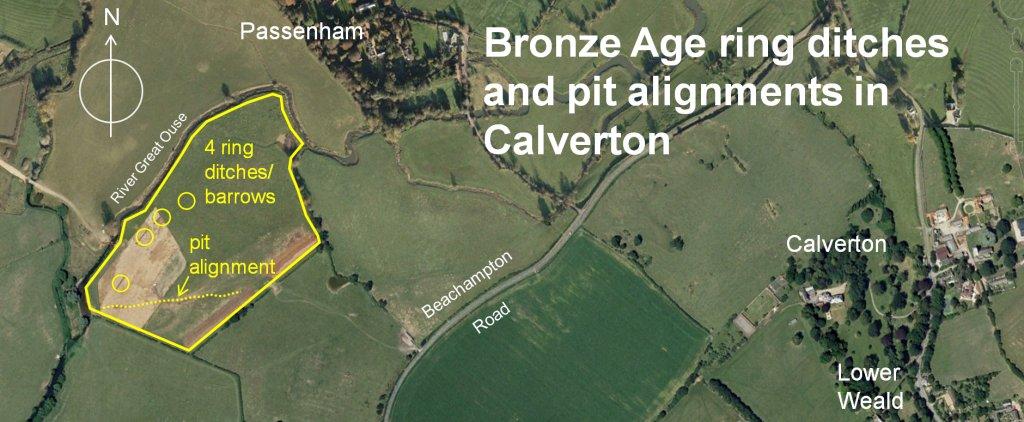 Passenham Quarry Bronze Age site