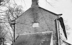 Almshouses West gable end