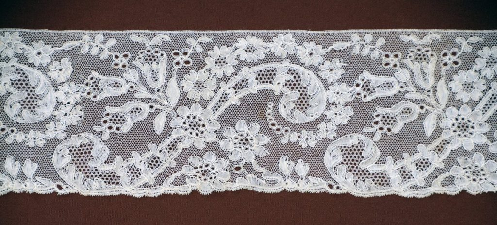 A example of buckspoint lace