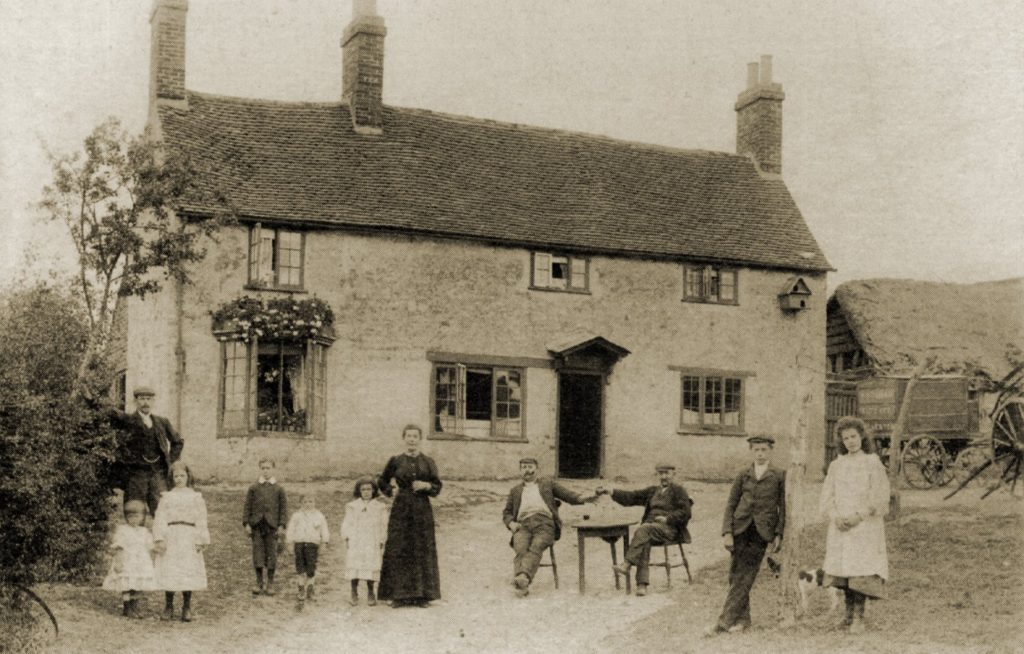 'Drinking outside the Shoulder of Mutton, c. 1885