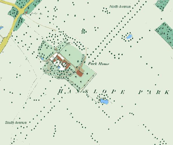 Plan circa 1900