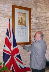 Hanslope Orig Roll of Honour restored