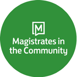 Magistrates in the Community logo