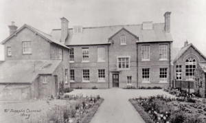 Olney Convent School Rear c1905 300ph