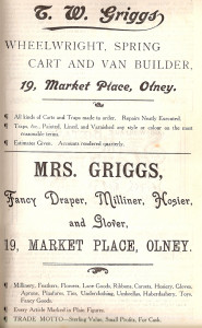 Griggs Ads 1907