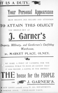 J Garners 1907
