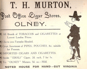 T H Murton (PO) Ad 1907