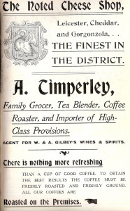 Timperley Ad 1907