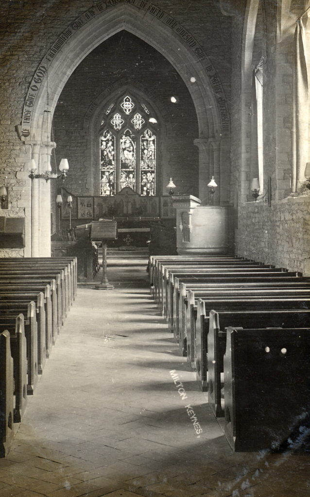 All Saints interior c1930