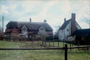 Bird's & Swan Cottages c1970