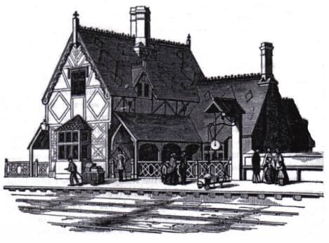 Woburn Sands Station 1852