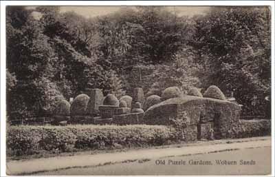 Henry VII Lodge gardens