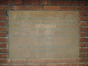 Information on Meeting House