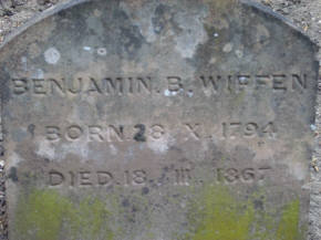 ...and Benjamin Wiffen