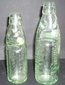 Woburn Sands glass bottle