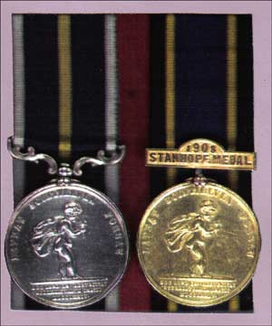 The RHS Medal and Stanhope Medal for 1908