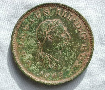 George III Penny - 1806