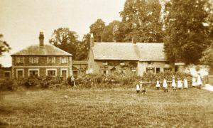 Children in 'The Meadow' c. 1910