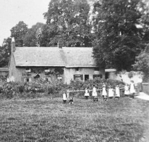 Children in 'The Meadow' early 1900s