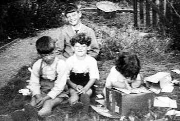 Maurice Goss as a boy