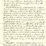 Terrier for Calverton Parsonage 1724