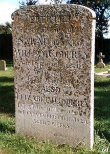 Gravestone for Godfrey family