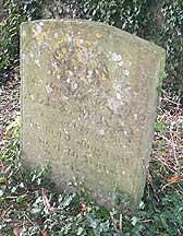 The grave of Alexander McKay in Hanslope churchyard