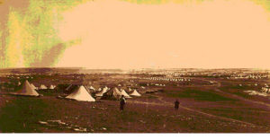 A military encampment on the Plateau of Sebastopol