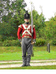 The Uniform of a soldier of the 68th