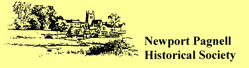 """""""Newport Pagnell Historical Society"""" logo"""