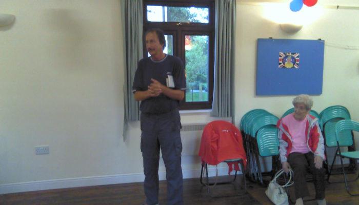 Don Hurst at an event