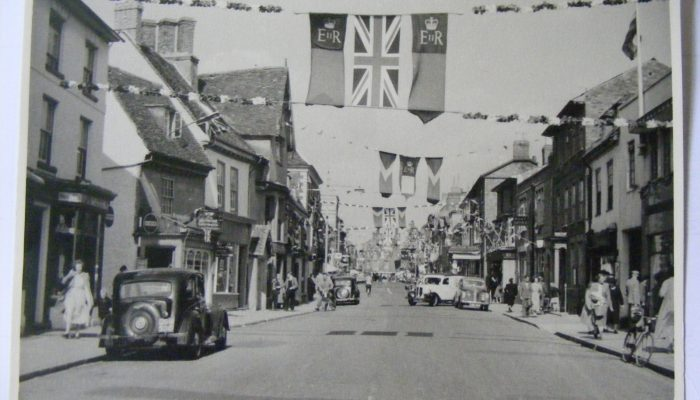 Photo of a coronation celebrations, Newport Pagnell