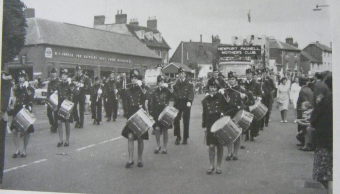 Photo of a parade, Newport Pagnell