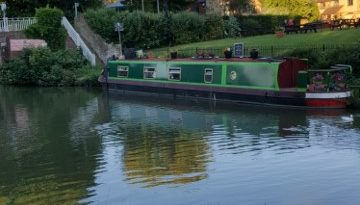 A canal boat