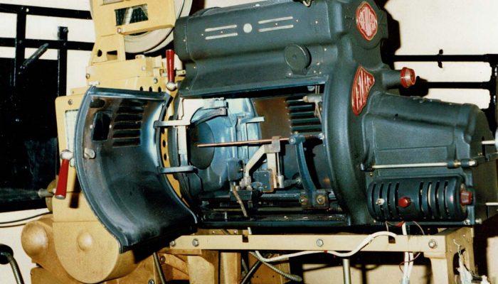 An old cinema projector