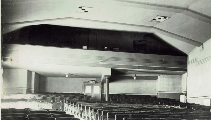 Interior of The Electra Cinema