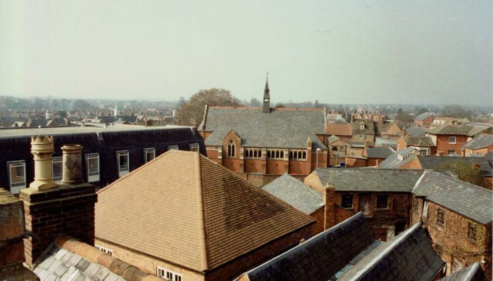 View from the The Electra Cinema's roof