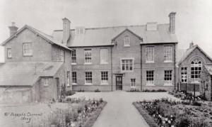 Olney Convent School Rear c1905 300ph