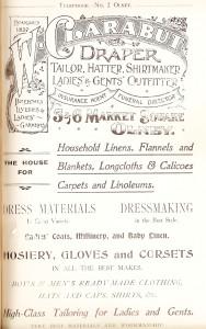Clarabuts Ad 1907