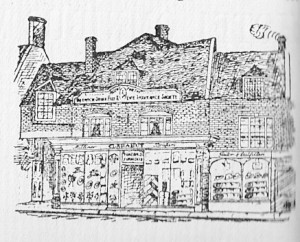 Clarabuts Sketch 1907