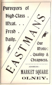 Eastmans Ad 1907