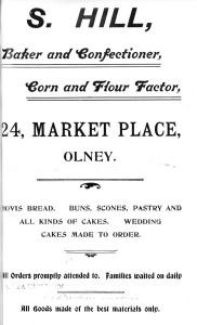 S Hill Bakera 1907