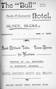 The Bull Hotel 1907