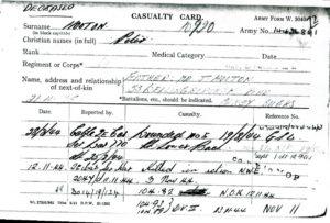 Peter Hooton - Casualty Card ph