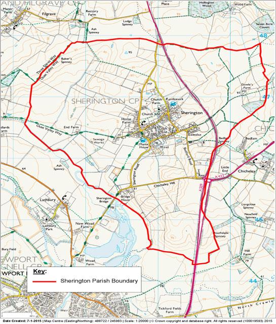 Sherington boundary
