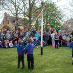 Dancing around the Maypole
