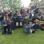 Sherington Folk Band on Mayday
