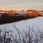 Sherington in the snow