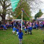 Maypole dancing 2017